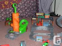 Large collection of Thomas Take-n-Play including