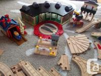 Lots of Thomas and Friends wooden railway sets. Only