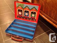 2 metal travel storage containers for little Thomas