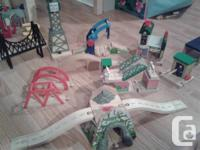 Huge Thomas and friends track and buildings set. (no