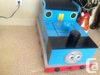We are selling our gently used Thomas Train table. Our