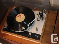 Here is a Thorens TD-160 Turntable in very good