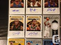 I have 9 sets of basketball cards for sale.  Sets