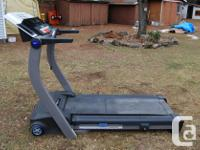 Reebok RX6200 folding threadmill available for sale.