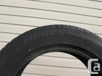 THREE (3) HIFLY HF805 TIRES SIZES /225/55/17/ ALL