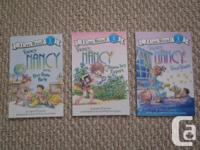 Available for sale 3 Fancy Nancy Reading Degree 1 Books