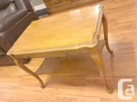 French Provincial Coffee Table Set for Sale (One Coffee