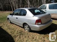 Make Hyundai Model Accent Year 2002 Colour Silver Grey