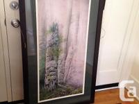 Three beautifully matted and framed Prints, with totem
