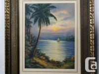 Three vintage prints in a beautiful antique frames 1.