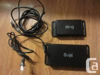 Sling SL-200 1-Port Web Media Box and 1 4 port Ethernet
