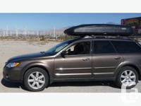 Used 3 times, looks like new. The Thule 605 Ascent 1700