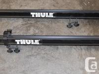 REDUCED PRICE! Pair of used Thule roof mount trays. Fit