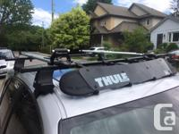 Thule Traverse 480 footings (with locks) with Thule