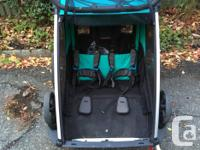 thule chariot lite 2 - bike trailer stroller (two