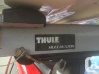 The Thule Hullavator is a great way to load and