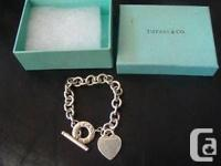 Hello,  I'm selling my gorgeous silver Tiffany Heart