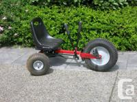 Tig'r Tail tricycle by Kidster. Very sturdy with