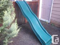 Great children's slide for your kids playhouse. It's in