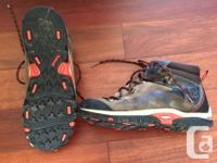 Gently worn condition. - Rubber hiking outsole with