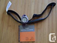 This is a woman's Timex Ironman Triathlon digital heart