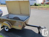 SELLING FOR A FRIEND 1988 TINY MITE MOTORCYCLE TRAILER