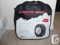 Diamond Back European Hoop Style tire chains. Quick as