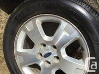 Tire with Alloy wheels 215x 65 x R17 - All season