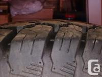 4 like new motomaster total terrain AT/2 tires size