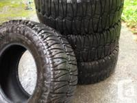 These tire have about 95% tread life left on them if