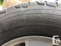 4 Michelin HydroEdge tires 205/65 R15 in excellent