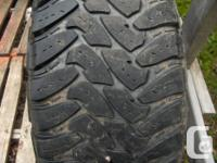 4 Toyo M/T Open Country 33X12.50R18LT Load Range E 10