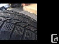 4 pneus d�hiver avec jantes en aluminium (5X127