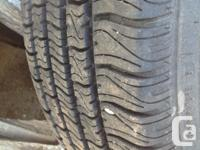 4 All season tires and rims for sale, originally off a