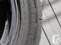 I am selling this rim and tire set as a set of four. I