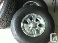 * 4 Brand New tires  * All Terrain Concours  *