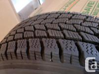 Set of 4 used tires on wheels, had these in my garage
