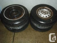 I have two 175 R13 tires on chevy rims and I have two