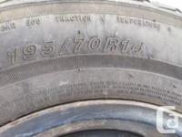 Matrix tour RS 195/70R14 from a Chevy Cavalier used all