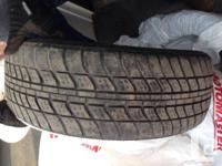 4 all season tires - 2 in great shape and 2 In good