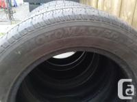 5 All Season Tires, good condition. I got 4 Motomaster