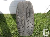1 MOTOMASTER AW 175-65-14 LIKE NEW $15, ONE GOODYEAR