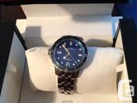Available for sale: a little used tissot watch,