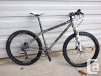 Like NEW Dean Titanium Hardtail Cross Nation Mountain