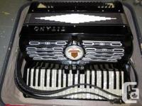 Titano 'Ideal' version accordion, made in Italy.