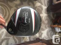 Up for sale is a Titleist 913 f.d 13.5 degree wood.