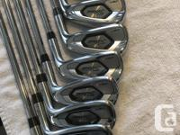 4,5,6,7,8,9,PW,48 upgraded shafts Nippon N.S. Pro 95