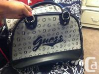 white bag for 15$ dog guess bag for 30$  please text