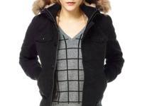 New tna grey maverick jacket ! warm with fur on the