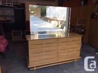 Stunning mid century modern dresser in good used